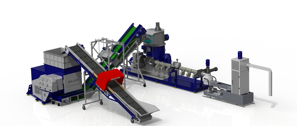 АТЛАСМАШ - Оборудование для рециклинга отходов пластмасс, переработки отходов пластика